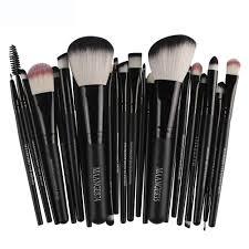 22pcs cosmetic makeup brush blusher eye shadow brushes set kit 11street msia accessories