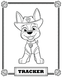 Index Coloring Pages Free Printable Paw Patrol Colouring Enigmatikco