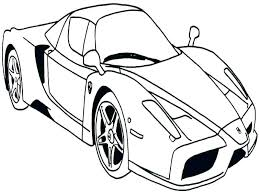 Sports Car Coloring Pages Sports Car Coloring Free Printable Car