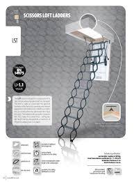 2016 fakro loft ladder catalogue 40 41 lstloft ladder diagram standardladderlength