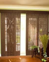 sliding patio door blinds. Window Treatments For Sliding Patio Doors Bamboo Door Blinds O Ideas Glass With Vertical