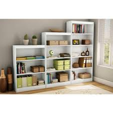 bookcases with doors on bottom. Axess 4-Shelf Bookcase, Pure White Bookcases With Doors On Bottom A