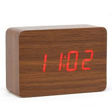 wood led small table clock electronic desk clock digital clock wood desktop alarm clock in alarm clocks from home garden on aliexpress com alibaba group