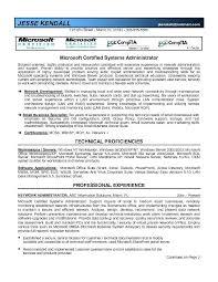 System Administrator Resume Noxdefense Com