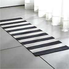 black and white striped runner rug black striped cotton rug runner reviews crate and barrel black black and white striped runner rug