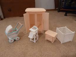 barbie furniture diy. DIY Barbie Furniture | Handmade Baby By LadybugsShoppe On Etsy Diy
