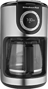 kitchenaid 12 cup coffeemaker black kcm1202ob best buy