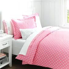 pale pink duvet cover set gingham single