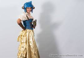 Light Blue Steampunk Dress How To Steampunk A Costume Simple Practical Beautiful