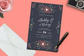 Weding Card Designs 50 Wonderful Wedding Invitation Card Design Samples