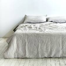 full size of 100 linen duvet cover in grey white stripe gray and white duvet covers