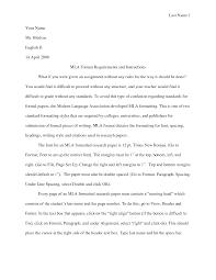 Cover Letter Mla Essay Heading Proper Mla Essay Heading Mla Essay