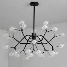nordic style magic bean chandelier small clear transpa glass bubble ball chandelier