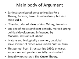 natasha khan gender sexuality essay plan 3