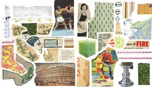 Example Of A Collage Call To Artists Cut Out Page Kolaj Magazine