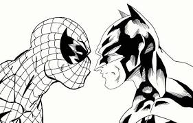 Spiderman, and superman lrg printable coloring page. Spiderman Logo Coloring Pages Spiderman Coloring Batman Coloring Pages Superman Coloring Pages