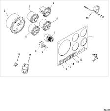 Instrument panel kit ponents full