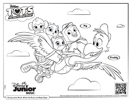You can print or download them to color and offer them to your family and friends. Free Printable Disney Junior Coloring Pages Disney Music Playlists