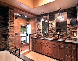 rustic bathroom double vanities.  Rustic Rustic Bathroom Sink Cabinets Sinks Stone  Vanity Design   And Rustic Bathroom Double Vanities I