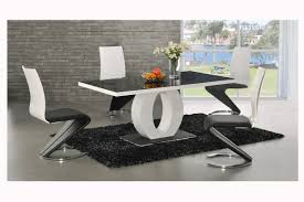 white modern dining room sets. Coaster Modern Dining Contemporary Trends And Black White Room Set Pictures With Pedestal Table Base Shaped Sets