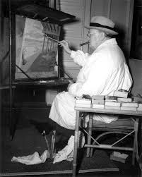 florida memory winston churchill painting at the surf club winston churchill painting at the surf club miami beach florida