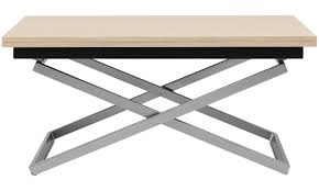 coffee table height adjule new coffee tables rubi adjule table square brown oak