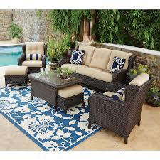 lovely patio seating set house decorating images joshua lane teak outdoor 7 pc patio seating set it 61049t boutiqify