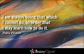 Pablo Picasso Quotes - BrainyQuote via Relatably.com