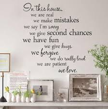 4 vivid and colorful design with quality material the best choice for home decal on house rules wall art suppliers with free express family house rules wall quotes in this house vinyl wall