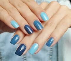 Image result for multi coloured nails