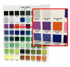 Dye Sublimation Color Chart Color Management For Sublimation Printwear