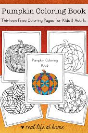 The best way to serve a cat some pumpkin? Pumpkin Coloring Pages Free Printable Pumpkin Coloring Book