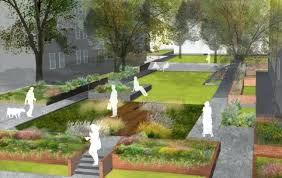 courtesy urban office. Plain Urban Urban Landscaping Perspective Render Of West Village Project Courtesy Local  Office Landscape And Design With Courtesy Urban Office N