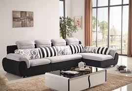 Full Size of Sofa:fabric Corner Sofa Bed Fabric Sofa Set L Shape Amazing  Fabric ...