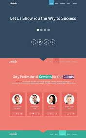 one page website template 100 free responsive html5 css3 website templates web creative all