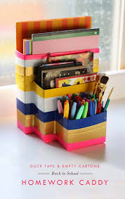 diy office supplies. Fun DIY Ideas For Your Desk - Recycled Organizer Cubicles, Teens Diy Office Supplies