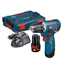 Bosch Gsr 10.8 V-Ec (12V-20) Professional Brushless Drill/driver Inc ...