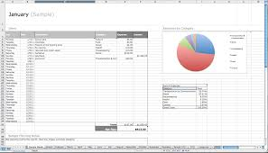 Personal Expense Spreadsheet Top Budget Software Finance Simple