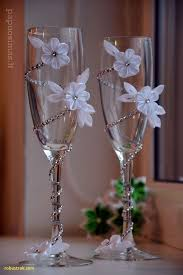 Wine glass decorating ideas for weddings Champagne Glasses Revisionist Events Beautiful Wine Glass Decorating Ideas For Weddings Home Design Ideas