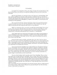 Narrative Essay On Friendship Importance Of Hard Work Essay