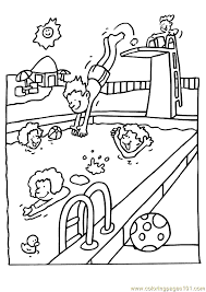 Small Picture Summer sports coloring pages
