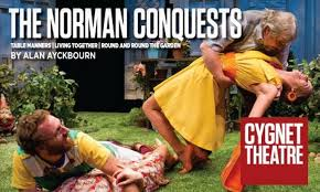 the norman conquests by cygnet theatre company
