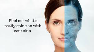 Image result for skin analysis pics