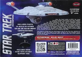 1 1000 polar lights star trek nx 01 refit pol898