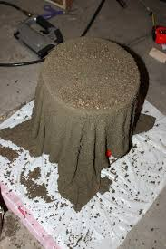 Big Concrete Planters Diy Concrete Planter The Rustic Willow