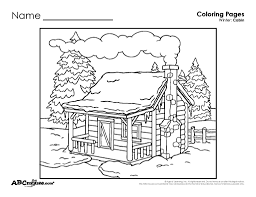 Today i am sharing with you all some exclusive free winter coloring pages for kids to print! Winter Coloring Pages For Kids Winter Scenes Kiddycharts Com