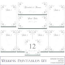 round table seating chart template tables wedding program plan word tab a rectangular excel 6 free