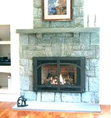 cost of a fireplace insert low cost gas fireplace inserts
