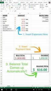 Personal Finance Excel Details About Personal Finance Budget Excel Spreadsheet Tool Simple Way To Track Your Money