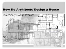 Small Picture How do architects design a house